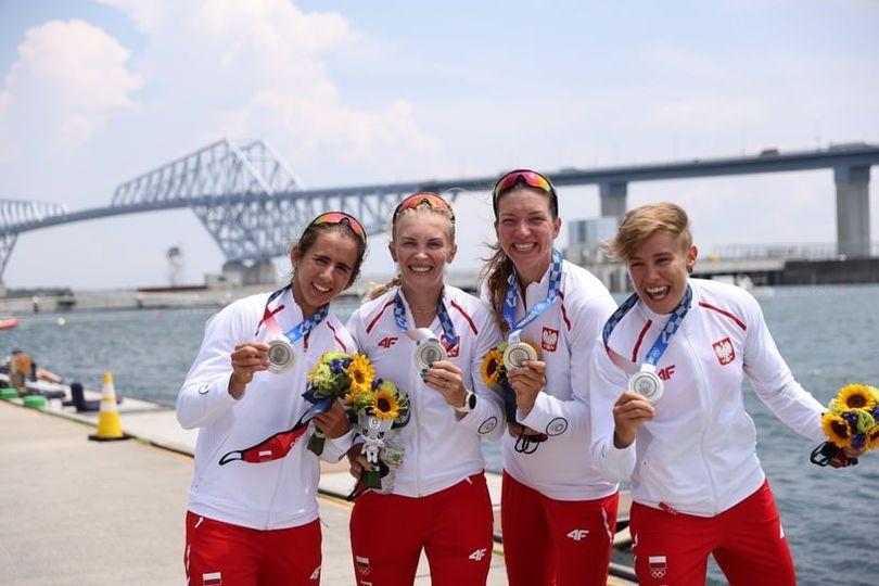 Srebrne medalistki Igrzysk Olimpijskich w Tokyo